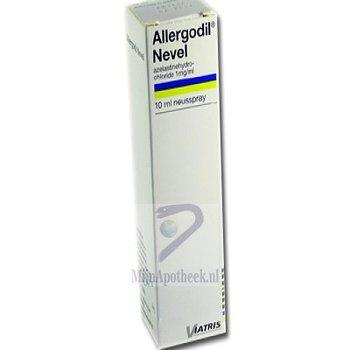 ALLERGODIL NEVEL NEUSSPRAY 1MG/ML