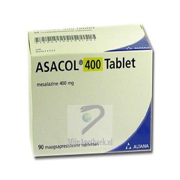 ASACOL TABLET MSR 400MG
