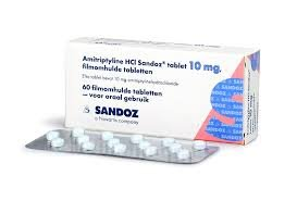 AMITRIPTYLINE HCL SANDOZ TABLET 10MG