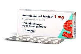 ACENOCOUMAROL SANDOZ TABLET 1MG