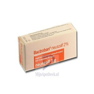 BACTROBAN NEUSZALF 20MG/G