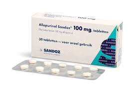 ALLOPURINOL SANDOZ TABLET 100MG